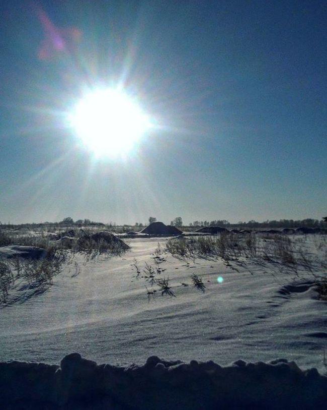 Покой . 👼 сибирь зима январь Новосибирск снег Winter солнце утро