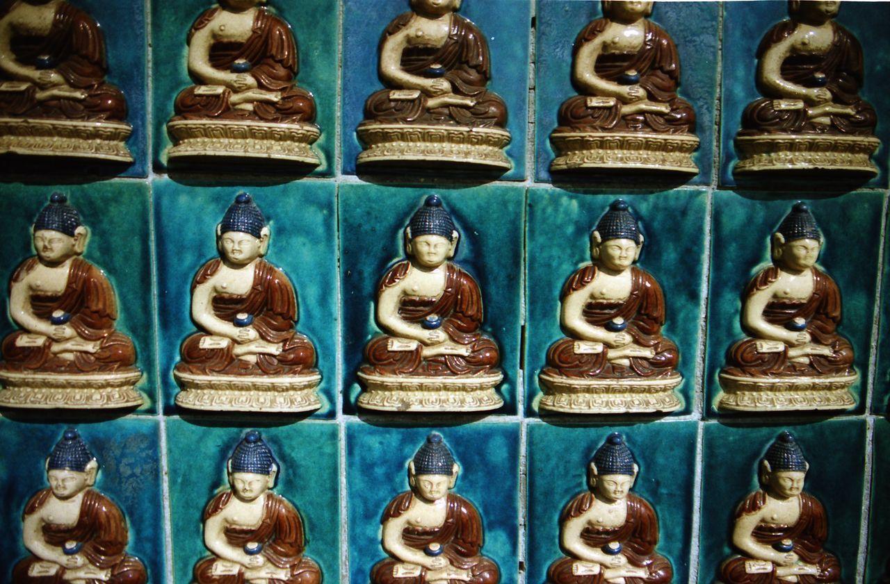test2 - negative scan Analog Arrangement Backgrounds Buddha Close-up Cultures Film Hackathon2017 Nature No People Temple