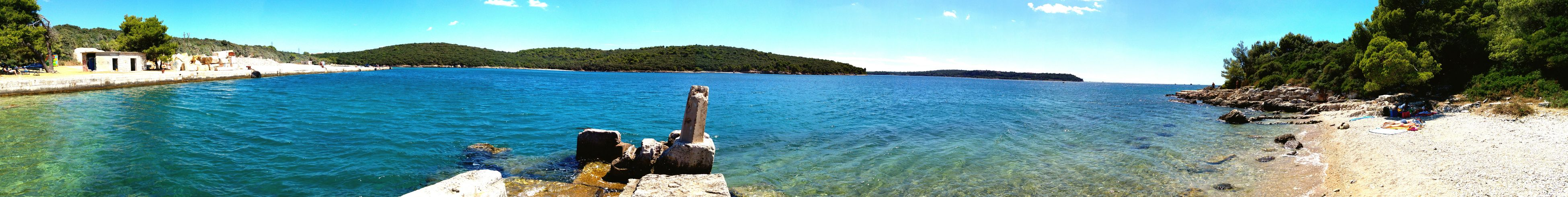 Panoramic Water Sea Sky Blue Nature Outdoors No People Tourism Day