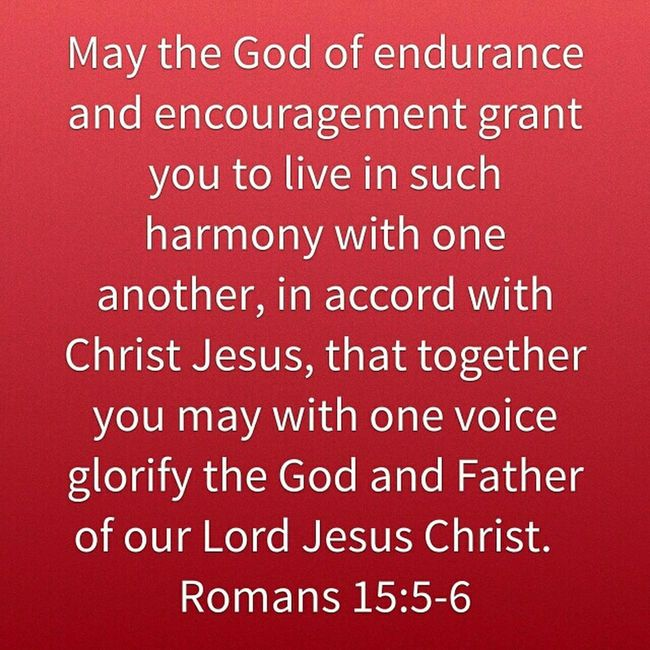 Endurance Encouragement Harmony Jesus Christ South Africa Better Together