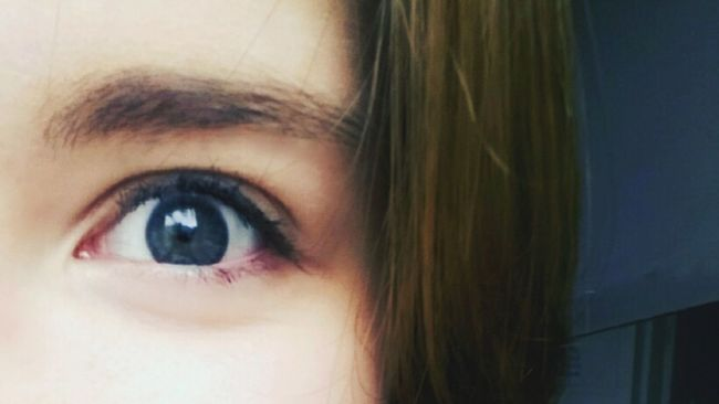eye глаз синий серый