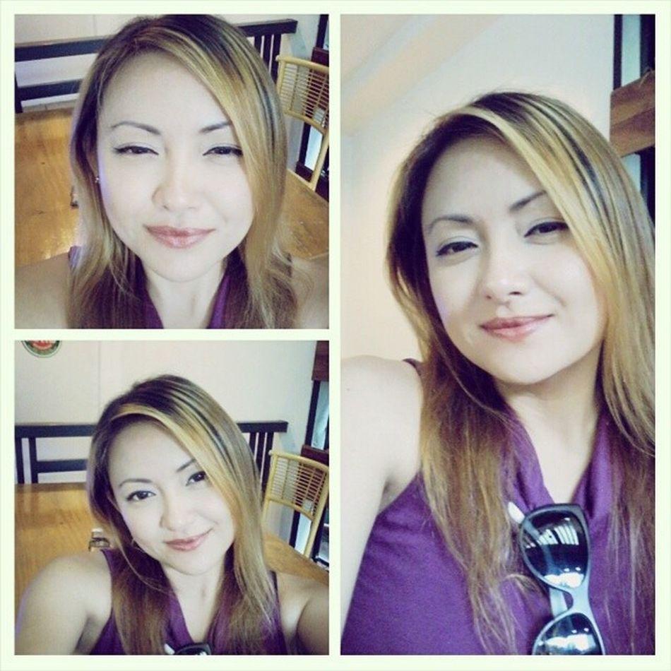 Selfie Selfiemode Feelinsick ExtremeHeat Exhausted Smile FaceShot MyRulez MyLife MyStyle MyWorld MyIG Maiki2014 Sad as I may seem, I still have a reason to smile...