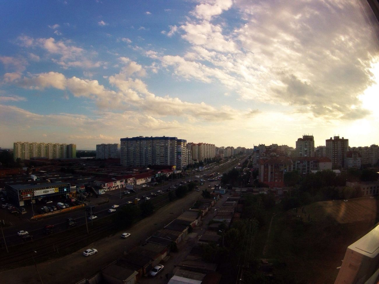 Sunset Gopro