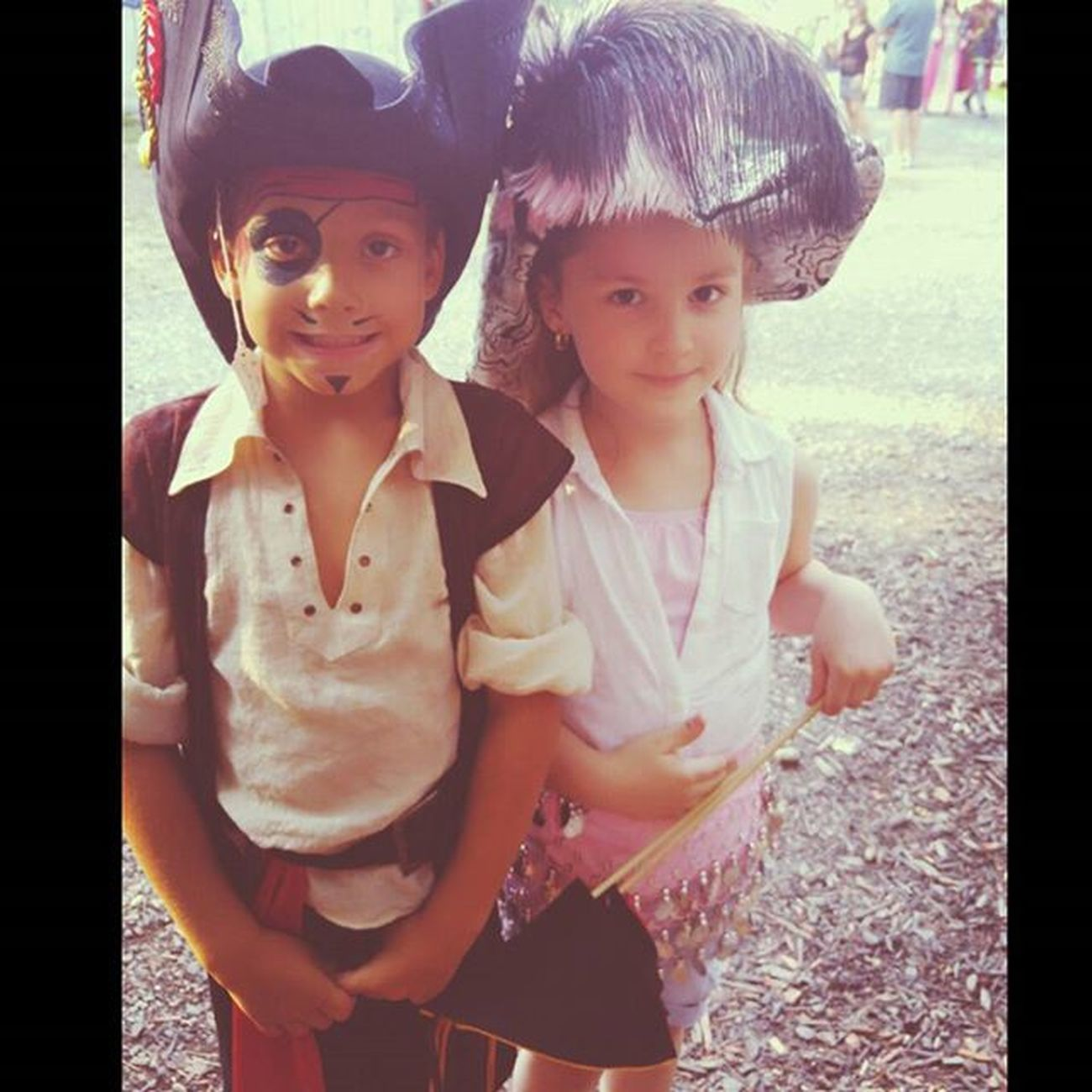 These 2 cuties @ the Renaissance Fair Renaissance ToCute Cuteness Pirate Renaissancefestival