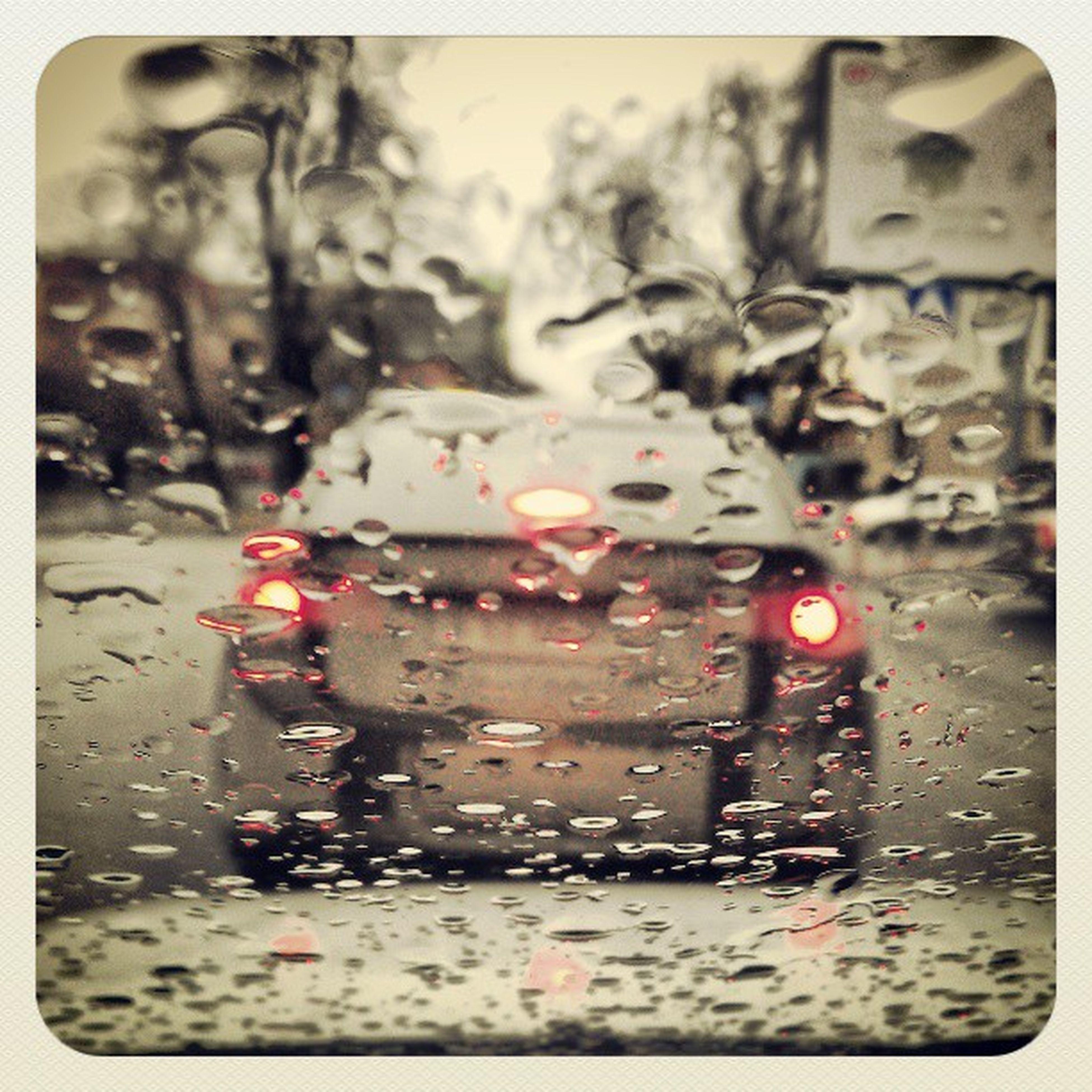 wet, transfer print, rain, drop, auto post production filter, season, street, weather, window, indoors, car, transportation, land vehicle, water, glass - material, mode of transport, raindrop, transparent, monsoon