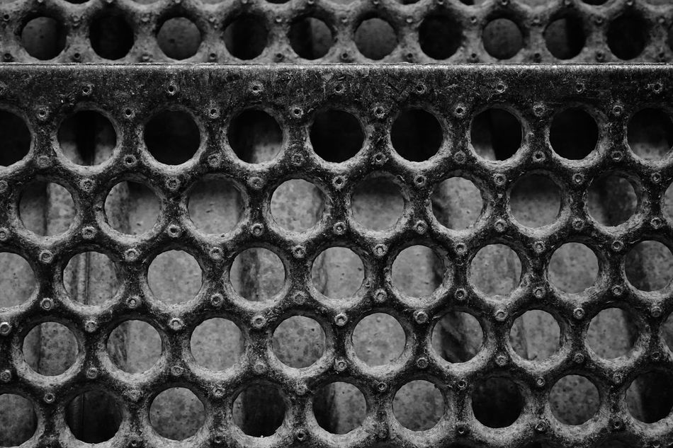 metal stairway Close-up Cold Day Dirt Full Frame Grip Holes Metal No People Outdoors Rusty Stairs Winter