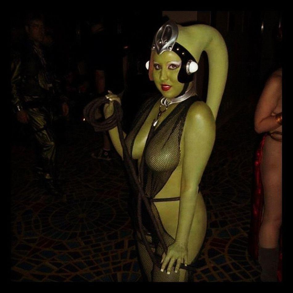 Dragoncon2011 Costuming Twilek Princesssandy