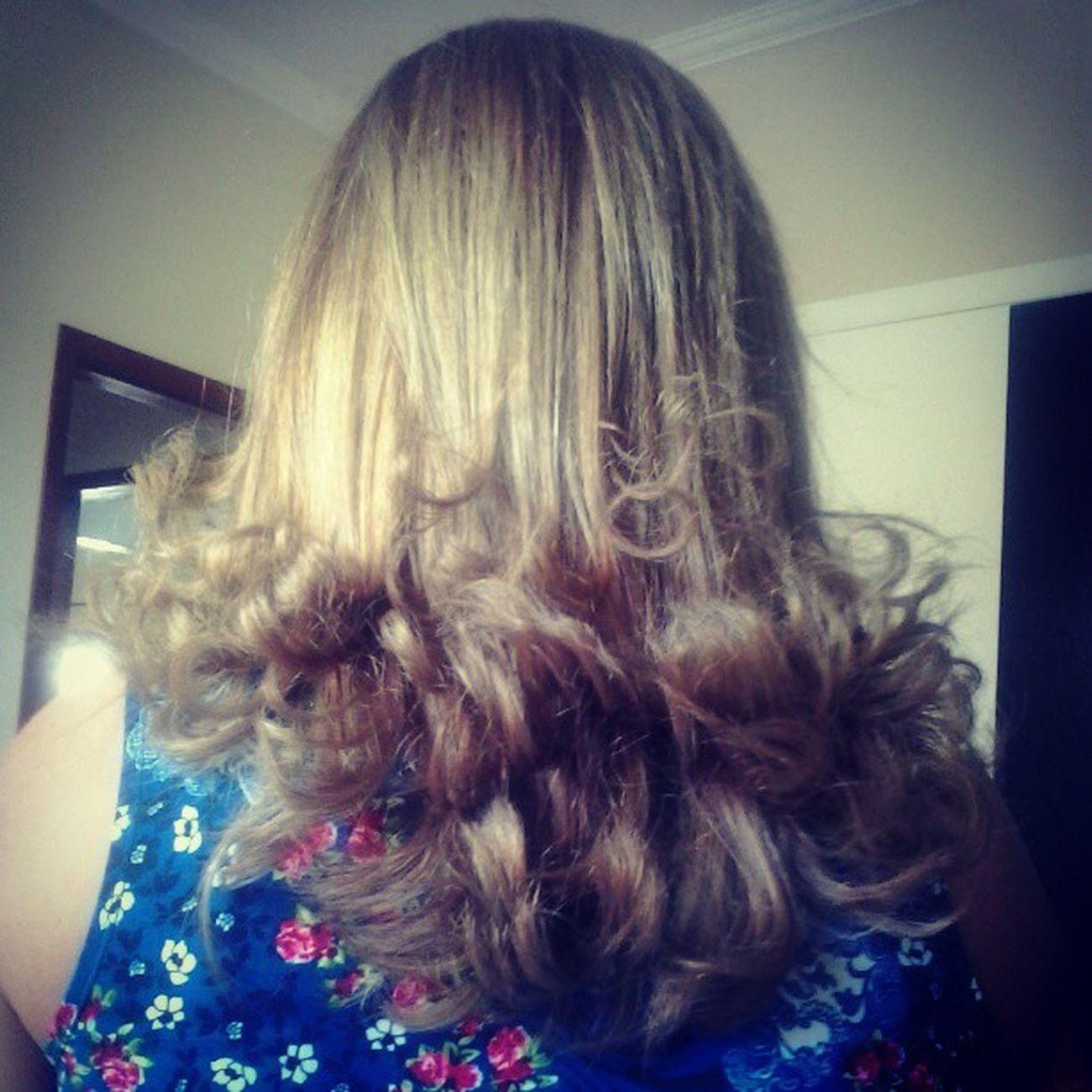 Obra de @karlaeadelson nos cabelos da gravida mais linda do mundo, Mainha Hair Top Instahappy *00*