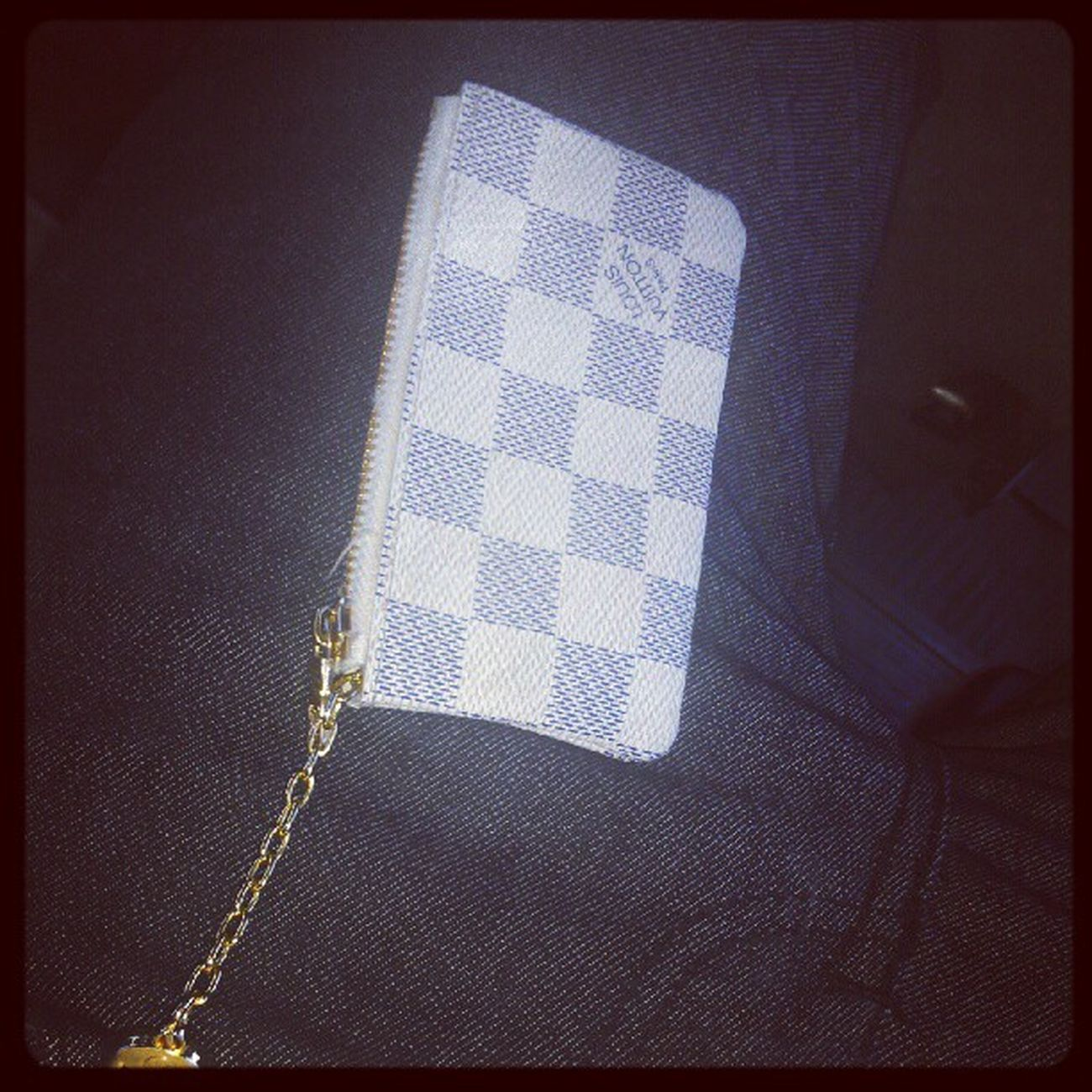 White loui pouch for the day Louisvuitton Coinpouch