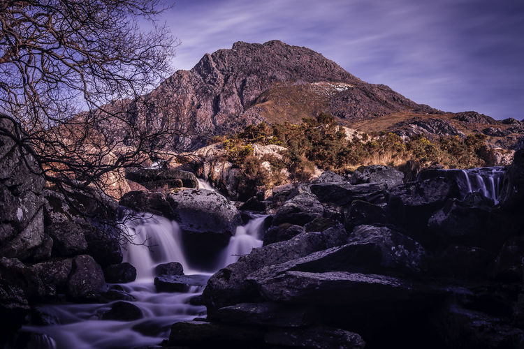 Ogwen Valley Beauty In Nature Day Landscape Nature No People Outdoors Scenics Sky Tree Waterfall