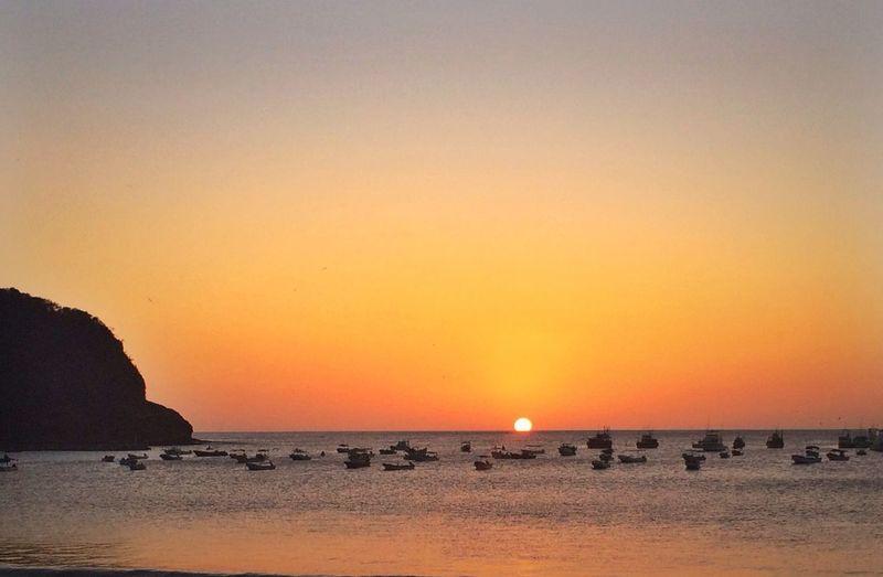 Sunset in San Juan Del Sur.