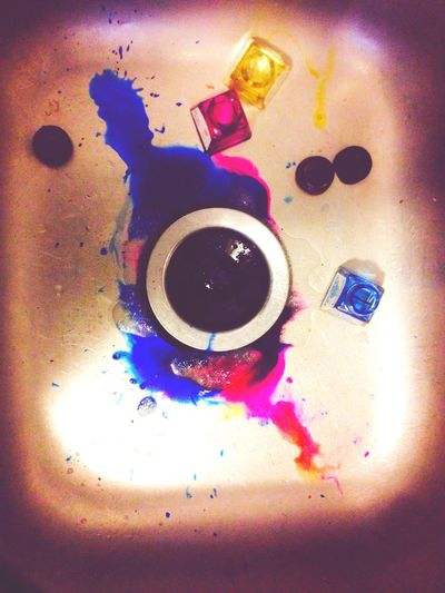 Ink in the sink