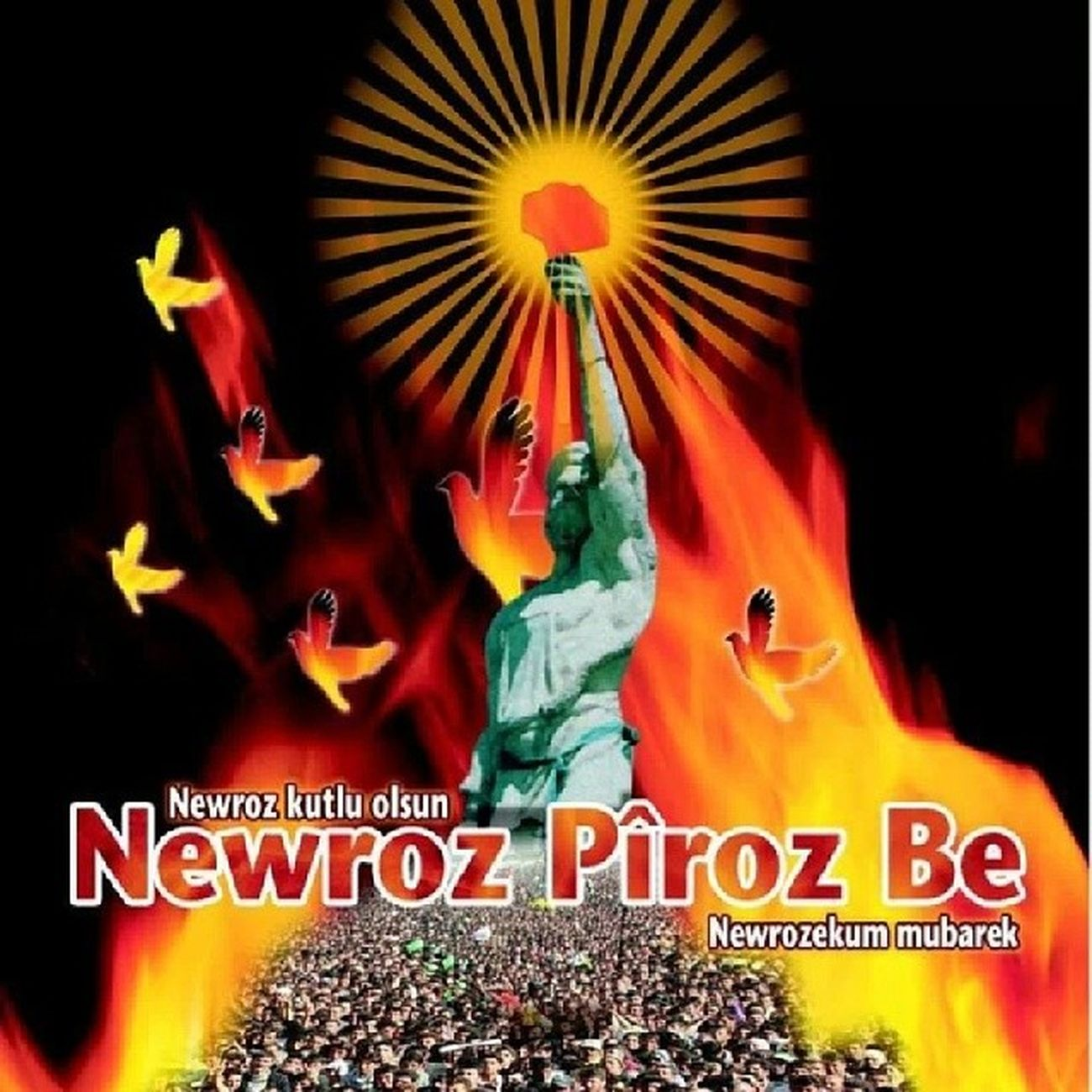 Happy Newroz , 21-3-2014 Kurdish Kurdsgram Kurdlove Kurdistan kurds kurd qamişlo qamishlo rojava