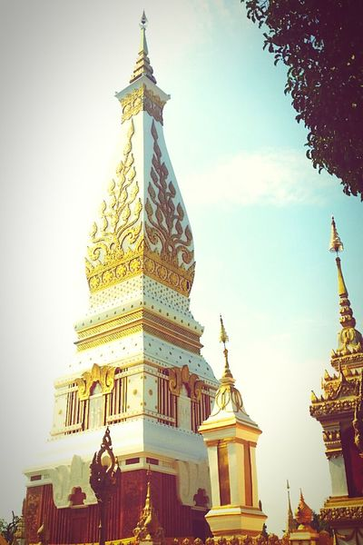 Phra That Phanom Chedi ,Northeastern Thailand Respect Sacred Places Religious Architecture Buddhism Thailand