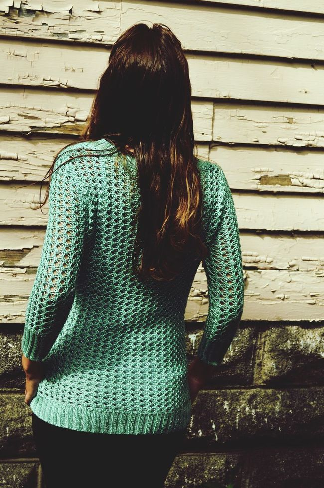 Staring off into space Green Color Teal Woman Woman Portrait Staring Peach Color Rustic House Paint Decay Paint Long Hair Athleisure Clothing Leisure Leisurely Simplicity Film Filter Simple Photography Simple Simple Beauty Simple Moment Simple Things In Life