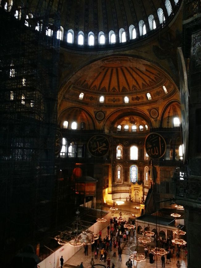 Seeing The Sights Hagia Sophia Istanbul Turkey