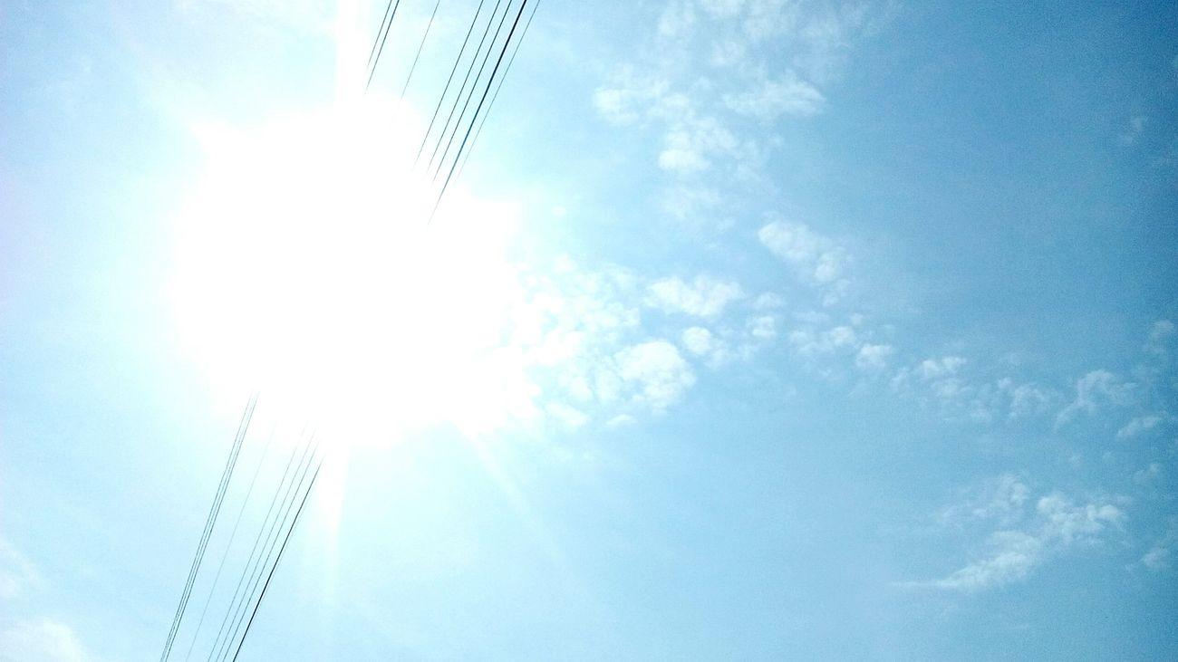 Blue Sky Sky And Clouds Summer2015 Beautiful Sky Bila Tserkva Ukraine Amazing God Moment