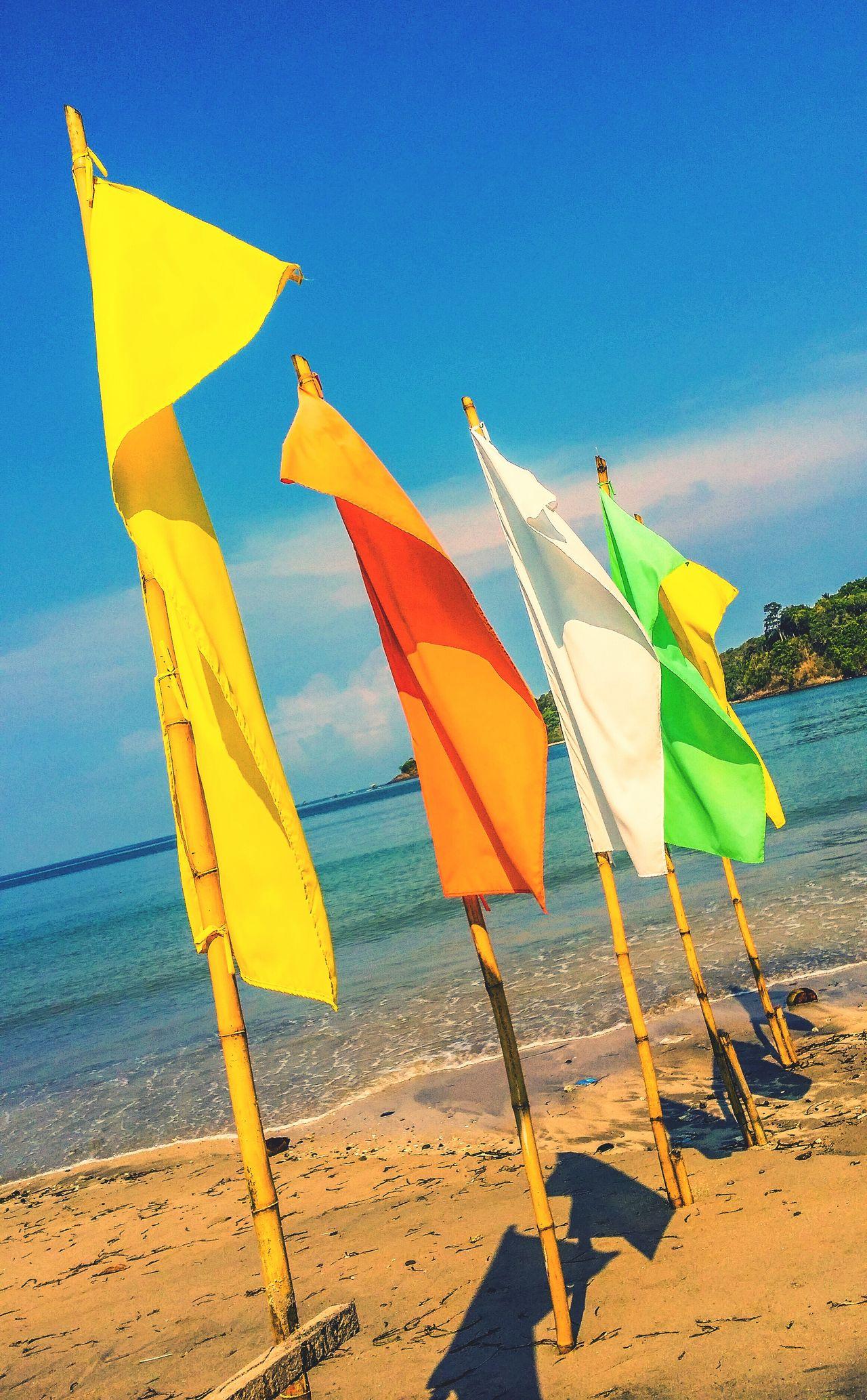 Beach time on May 29 Beach Beach Flags Colors Summer