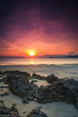 sunset by Rajasa Adhi