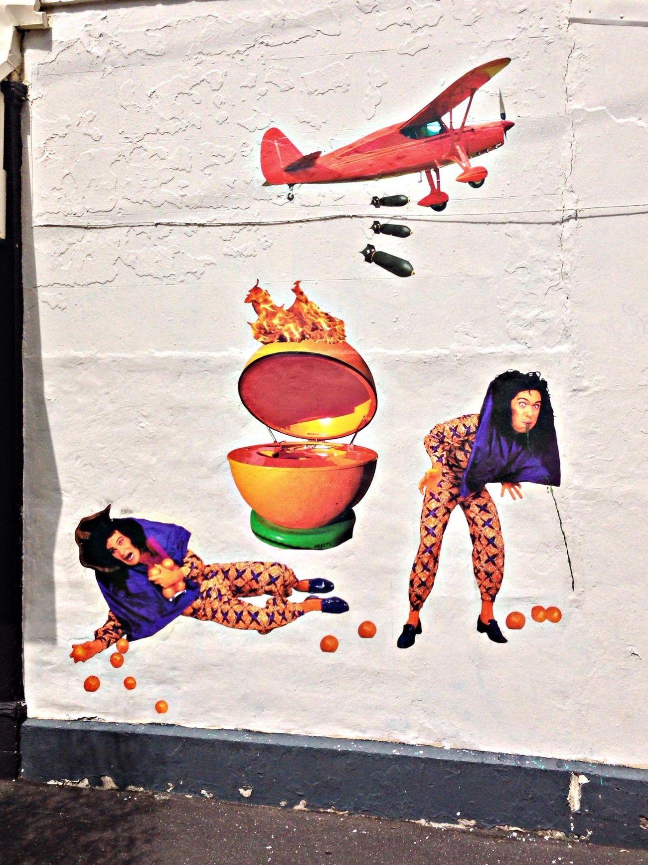 Streetart CollingHood...BBQ...