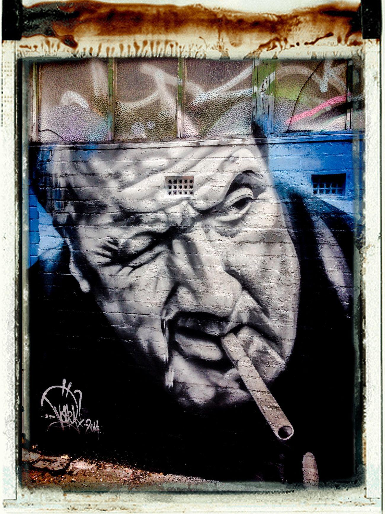 Street Art Mural ...crim...Chopper Read...