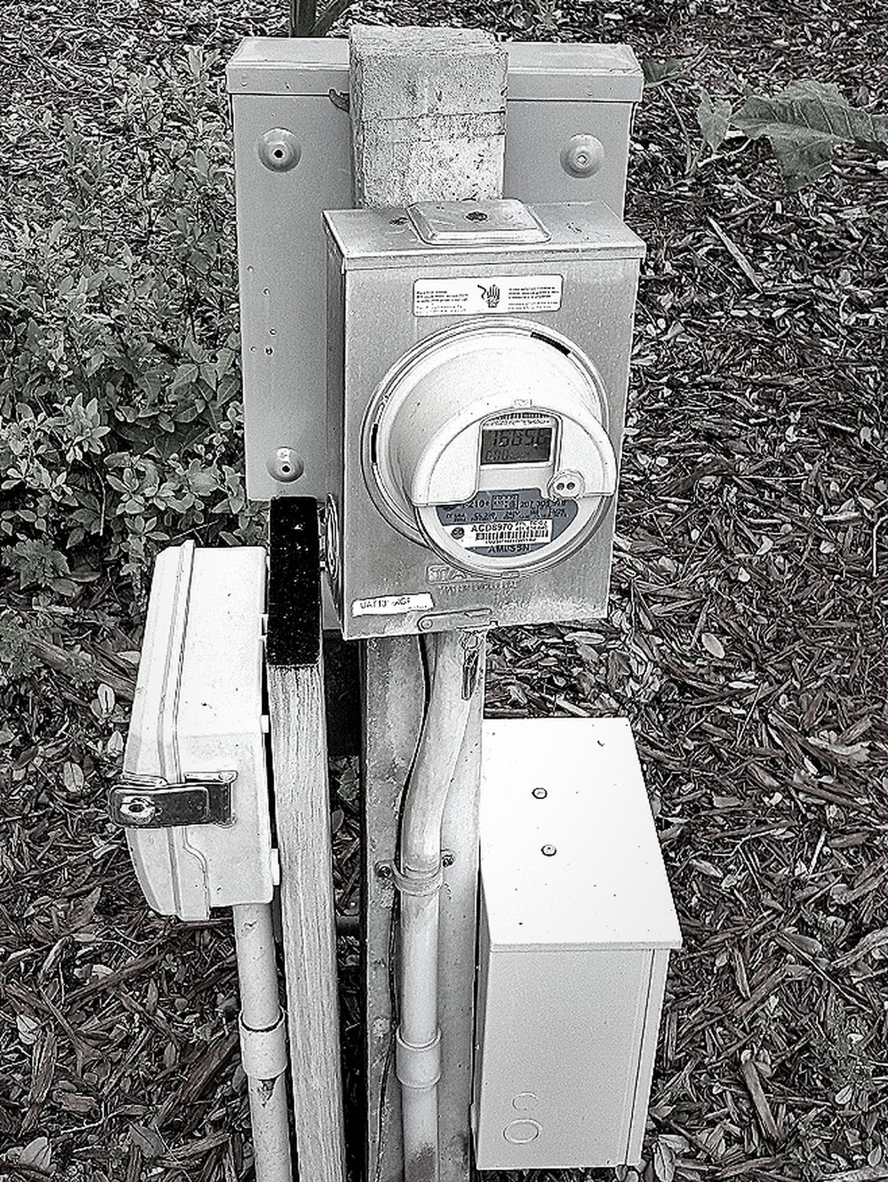 Electric box Technology Outdoors Black And White