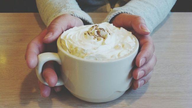 Mocha coffee. Prom Day Coffee Breakfast Relax