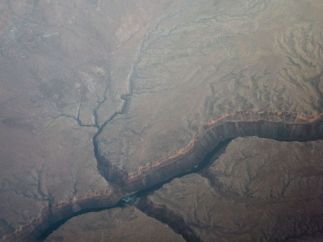 Cracks Desert Earth Face Of The Earth Aerial View Beauty In Nature Canyon Crust Day Landscape Nature No People Scenics Tranquility View From Above