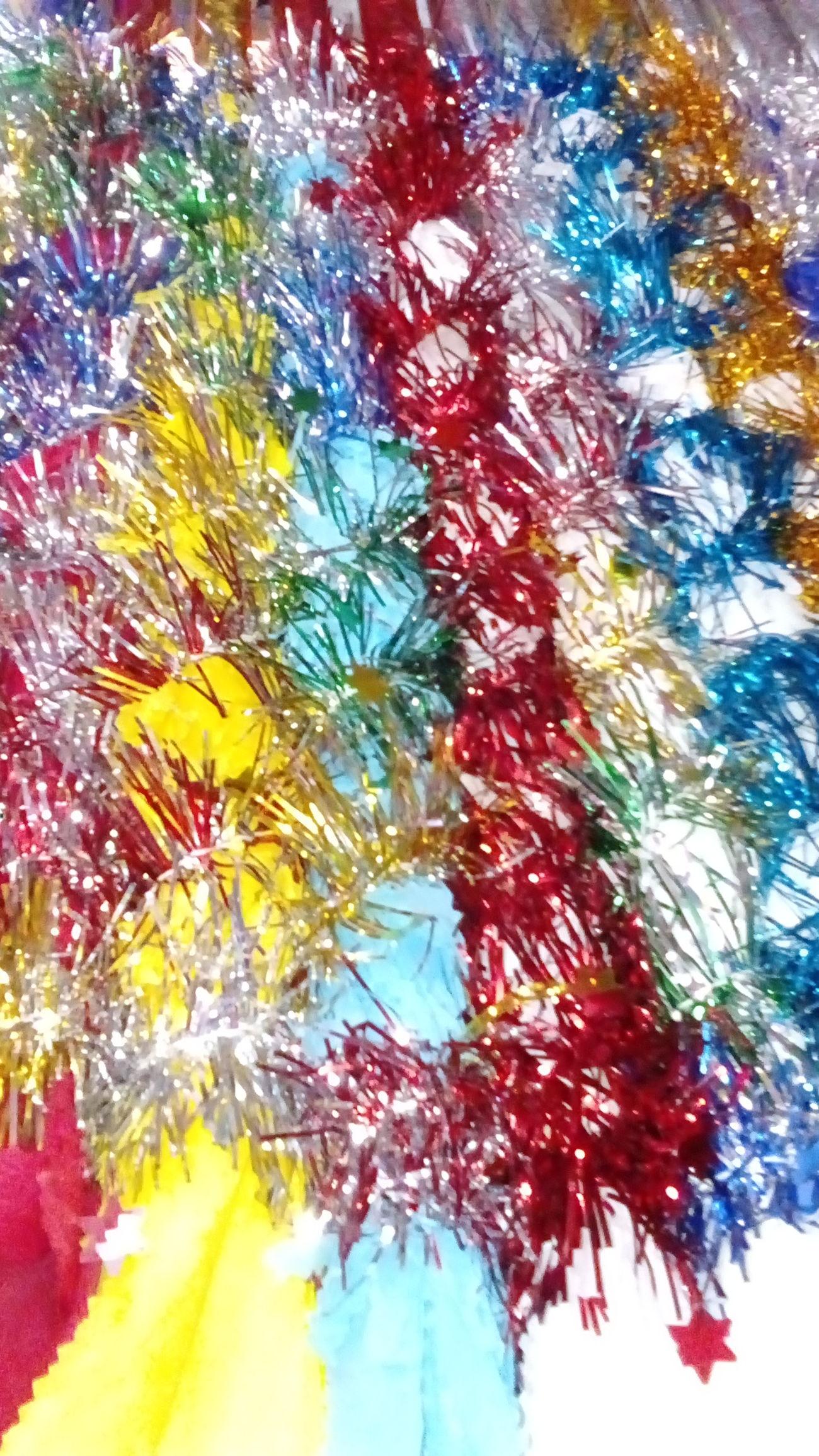Exploring Style Piñata Multi Colored Close-up Piñata Stick