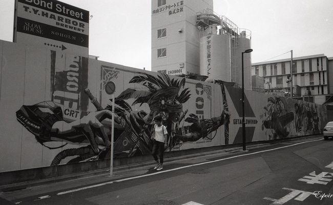 Minolta Tc-1 B&WPhoto Street Photography 35mm Film