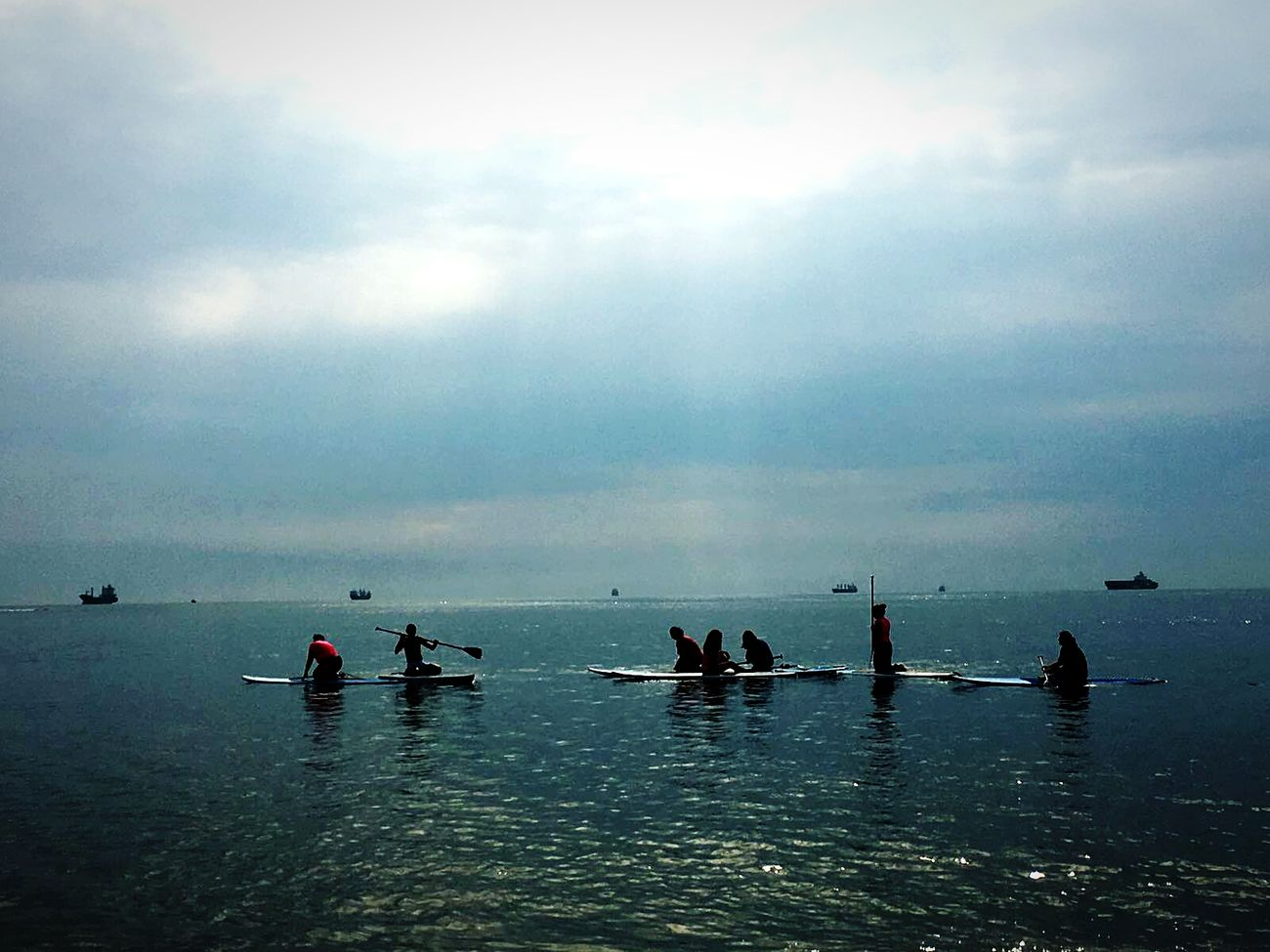 New saturday Water Nautical Vessel People Sport Silhouette Athlete Sky Standing Fisherman Aquatic Sport Occupation Cloud - Sky Outdoors Reflection Power In Nature Morning View Morning Rituals Tranquil Scene Sun Beach Sea Nature Day Adult Happiness