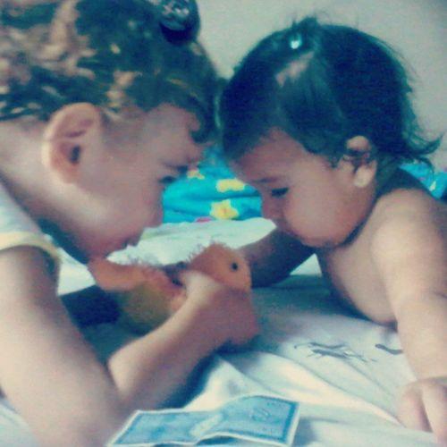 Arthur Franco e Emi Crizogno *-* Baby Love Cute