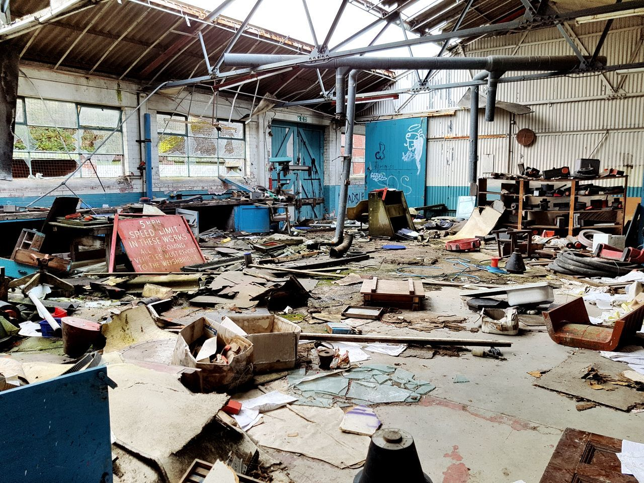 Industry Indoors  Warehouse Factory No People Architecture Occupation Day Old Buildings Factory Building 1900's Buildings Abandoned Buildings Worn Out Abandoned Places Destruction Derelictplaces Bad Condition Ruined Abandoned Damaged