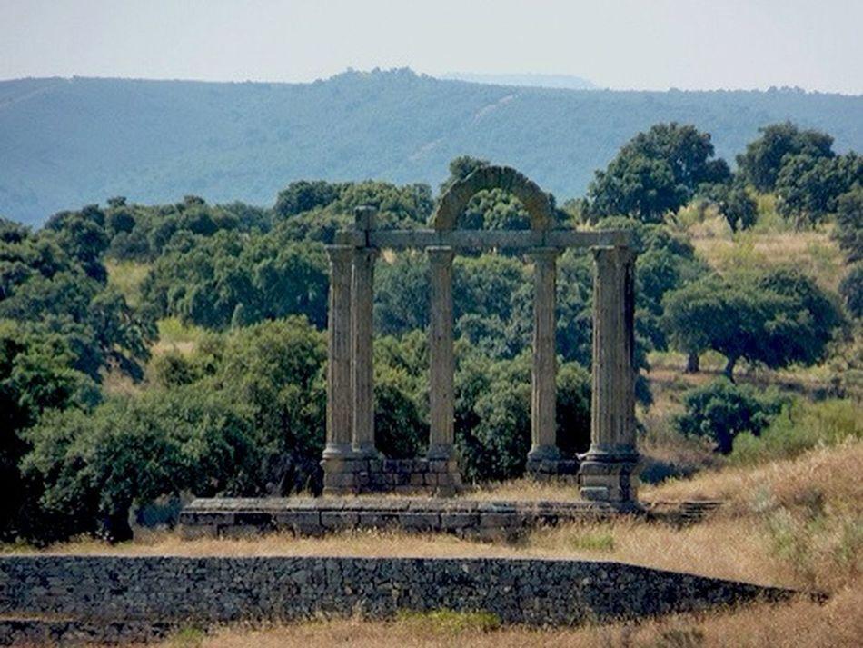 Templo romano Talavera la Vieja