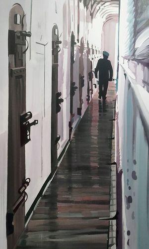 Prison Peinture Peintre Rancillac peint