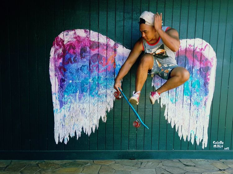 EyeEm Selects Penny Board Skatewings Take Flight! Collettemiller Oahu, Hawaii Northshoreoahu Fun EyeEmNewHere