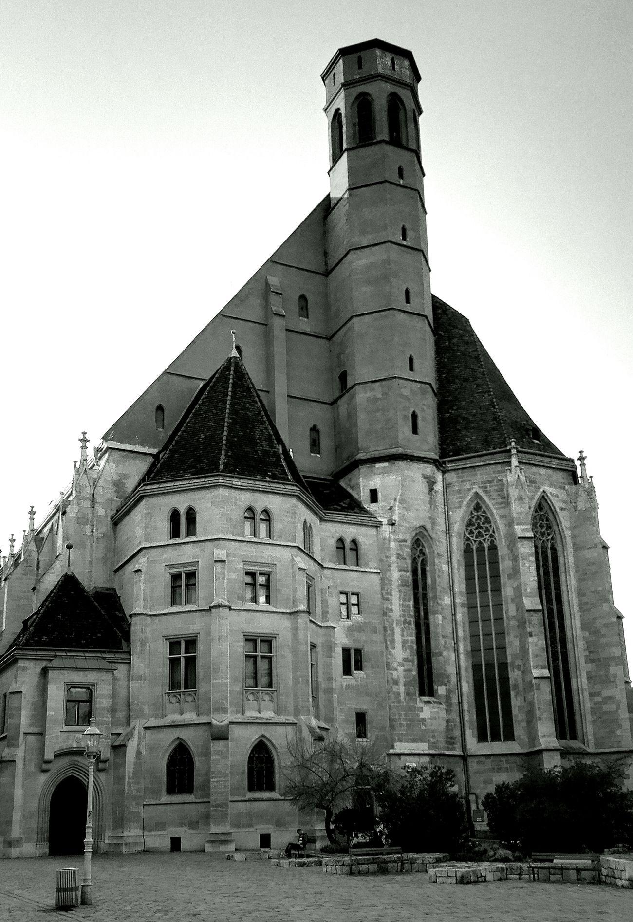 Architecture Church Black & White
