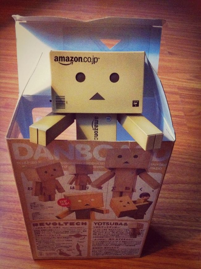 My danbo out of the box