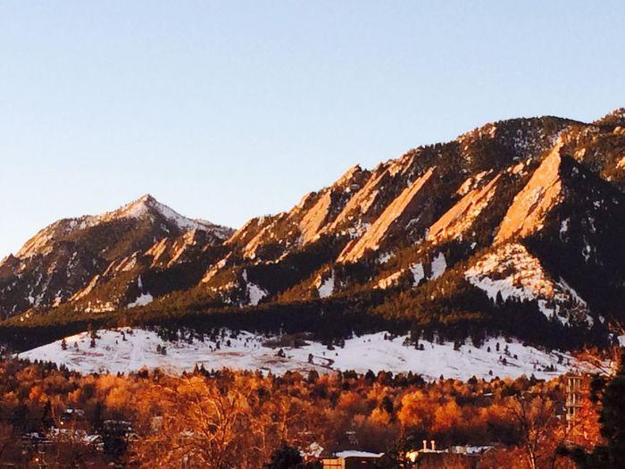 Goodmorning :) Boulder Flatirons Filming