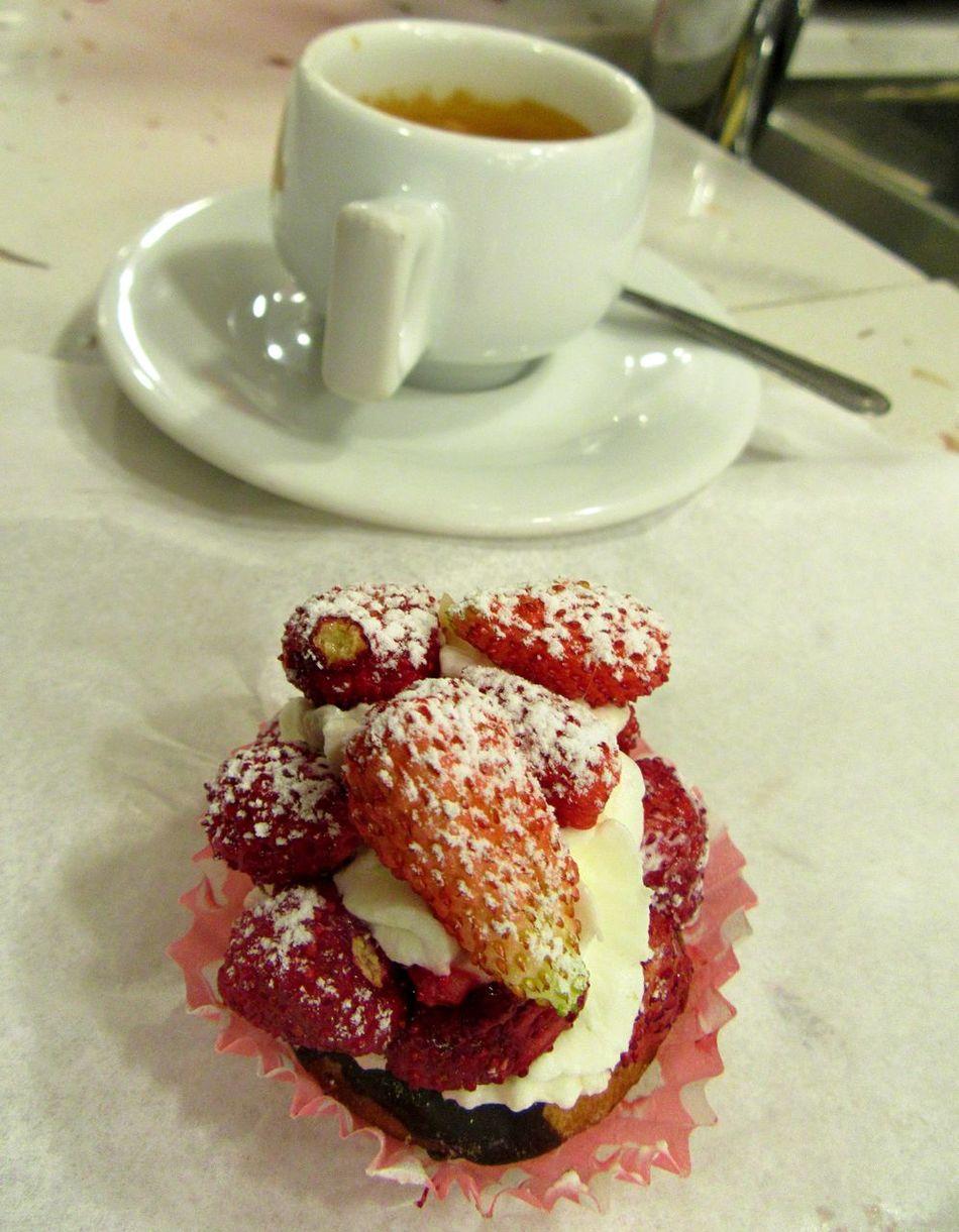 Caffè Coffee Foodphotography Foodporn Fragole Sicily
