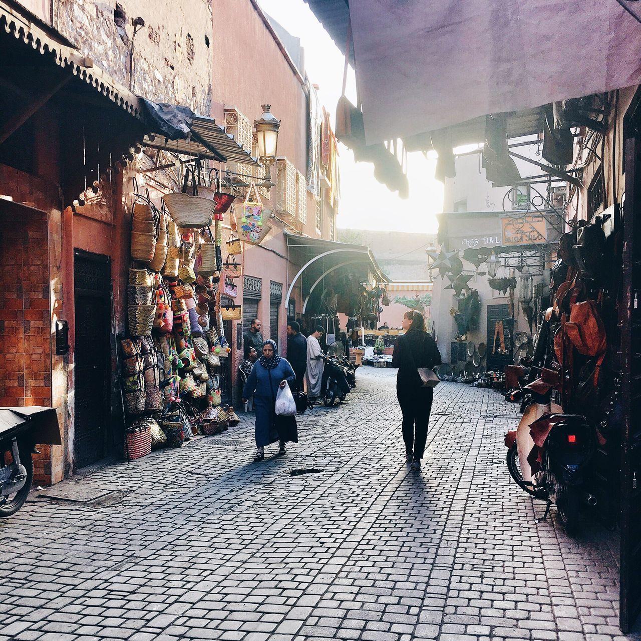 Streets Of Marrakesh Visit Marrakesh Bazar