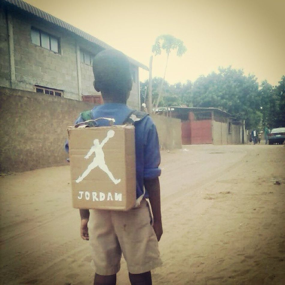 In AFRICA we do this way tho. Humbly JordanBox WMg