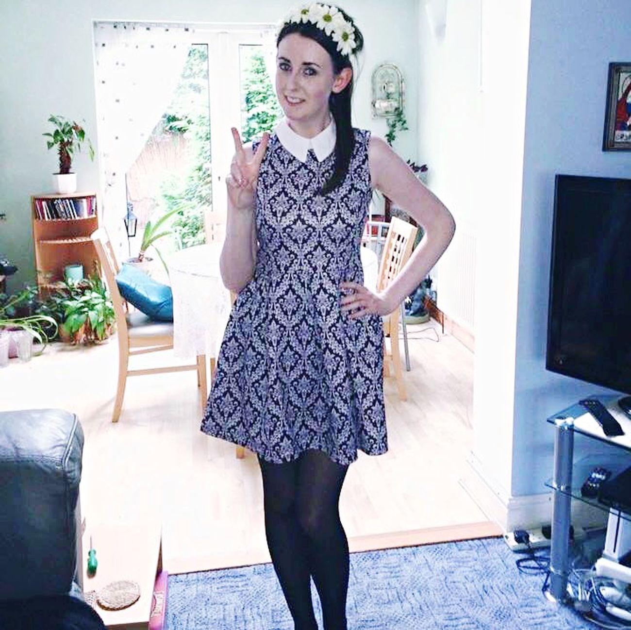 Fashion Dress Retro Vintage Sixties Patterns Style My Unique Style Flower Power Peace ✌