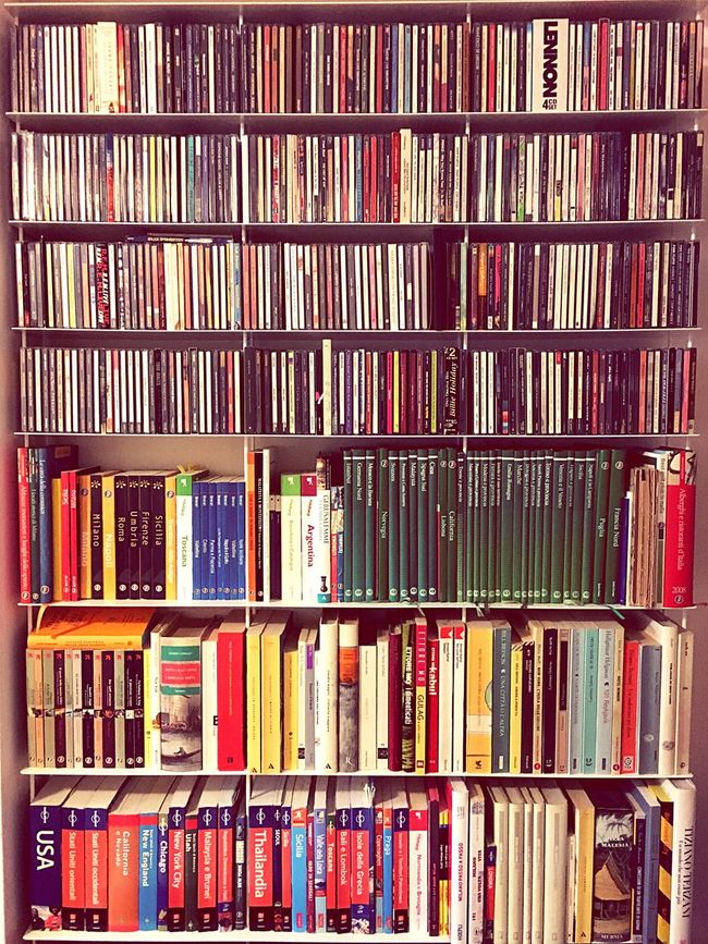Everything In Its Place Library Books Music Travel Travel Guide Minimal