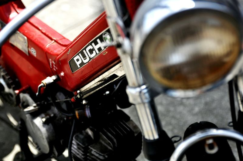 Puch Scooter Motorcycles Urban Urbanphotography Streetphotography Blurry EyeEm Best Shots The Street Photographer - 2015 EyeEm Awards