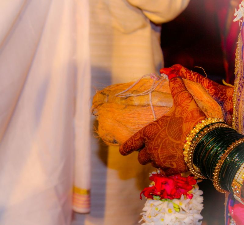 Indian Weddings!  Bride Hands