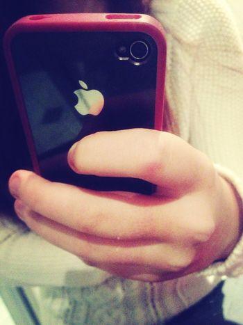 cette coque est trop cool Apple IPhone Red Happy