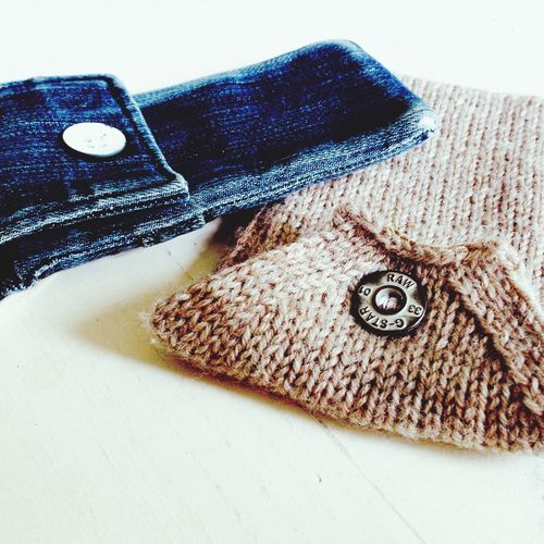 For iPhone only Smartphonejacket IPhone Gstarraw DIY Knitting Getting Creative