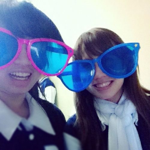 With @tamsiksik (: Year12 Year12video Graduating HSC bigglasses ET weird gangnamstyle rockingcool