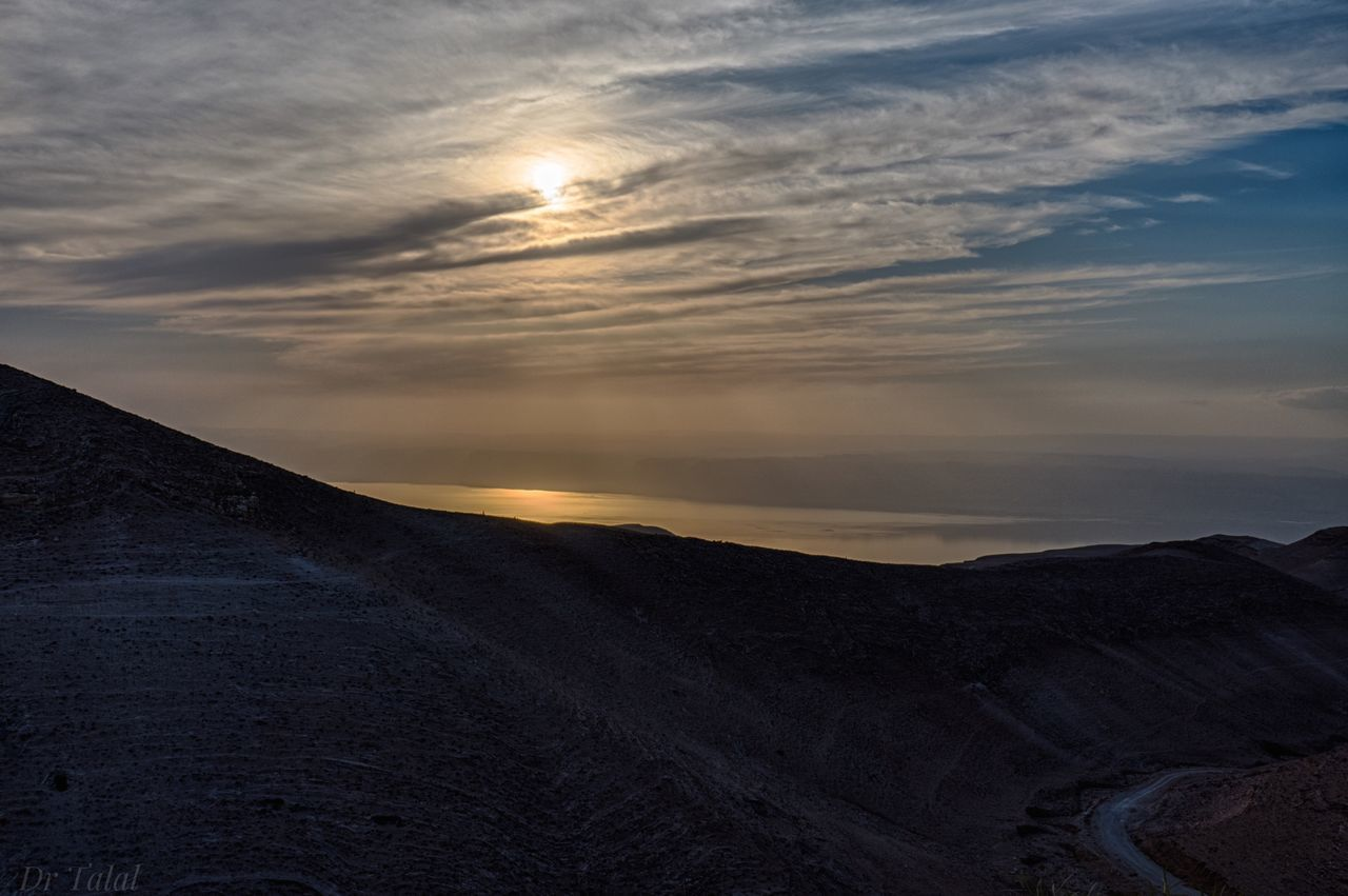 Before sunset Sky Beauty In Nature Nature Sunset No People Outdoors Cloud - Sky Sun Scenics Landscape Eye4photography  Landscape_Collection Light Light And Shadow Sunny Deadsea